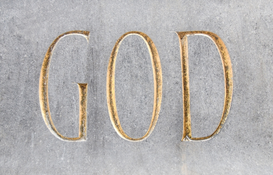 God Inscription